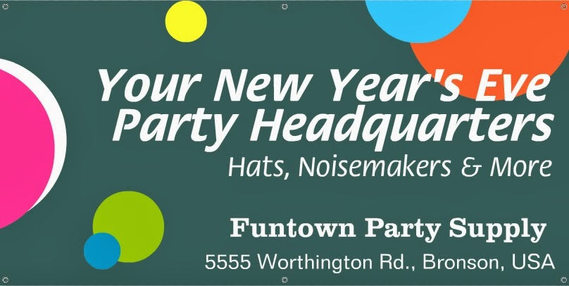 Free Happy New Year 2014 Signs Template - Signs for New Year 2014