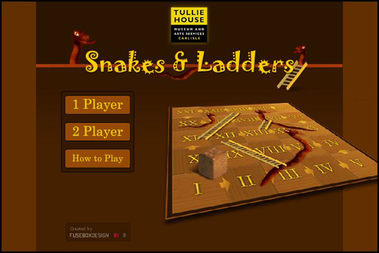 Roman Numerals: Snakes and Ladders Roman Numerals Game