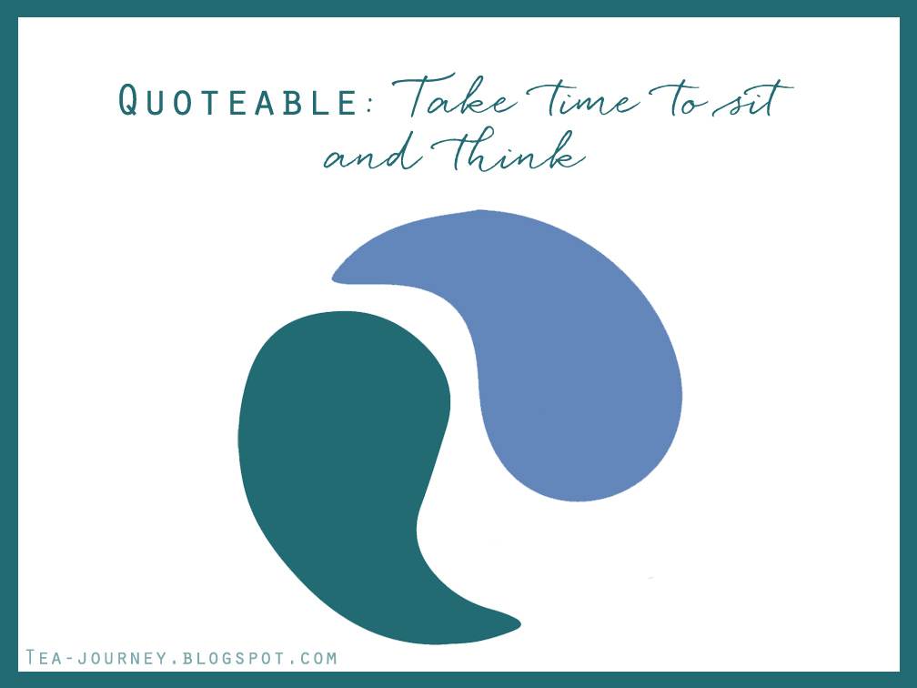 Take Time to sit and think quotable life lessons lorraine hansberry