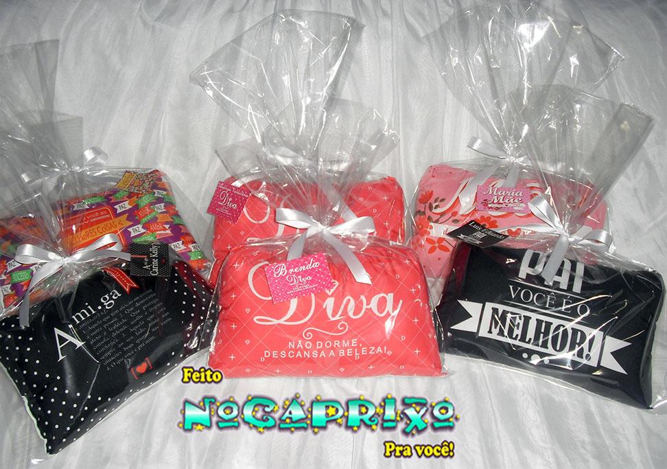 Mini-Travesseiros Personalizados
