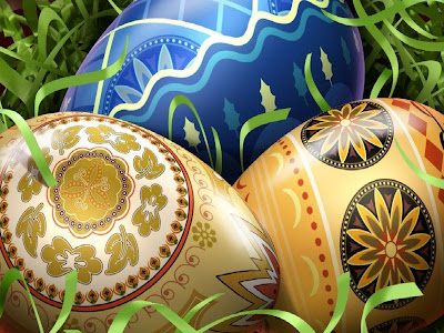 Beautiful Easter Eggs Wallpaper