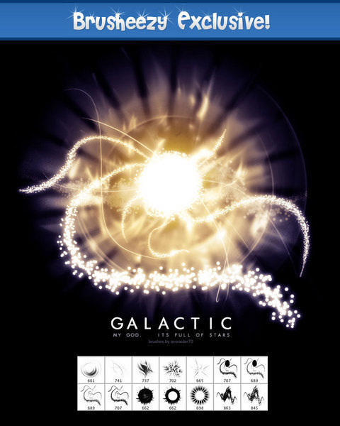 Exclusive – Galactic Brushes
