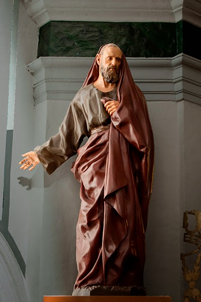 San Joaquín Penáguila Alicante Arturo Serra escultura 2