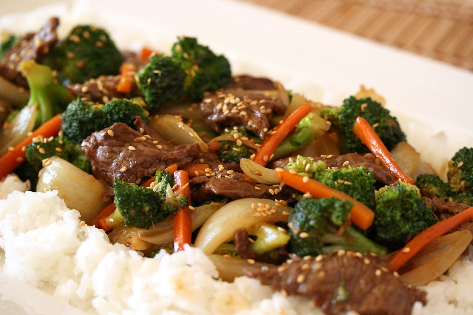 Beef & Broccoli Stir-Fry - Saving Room for Dessert