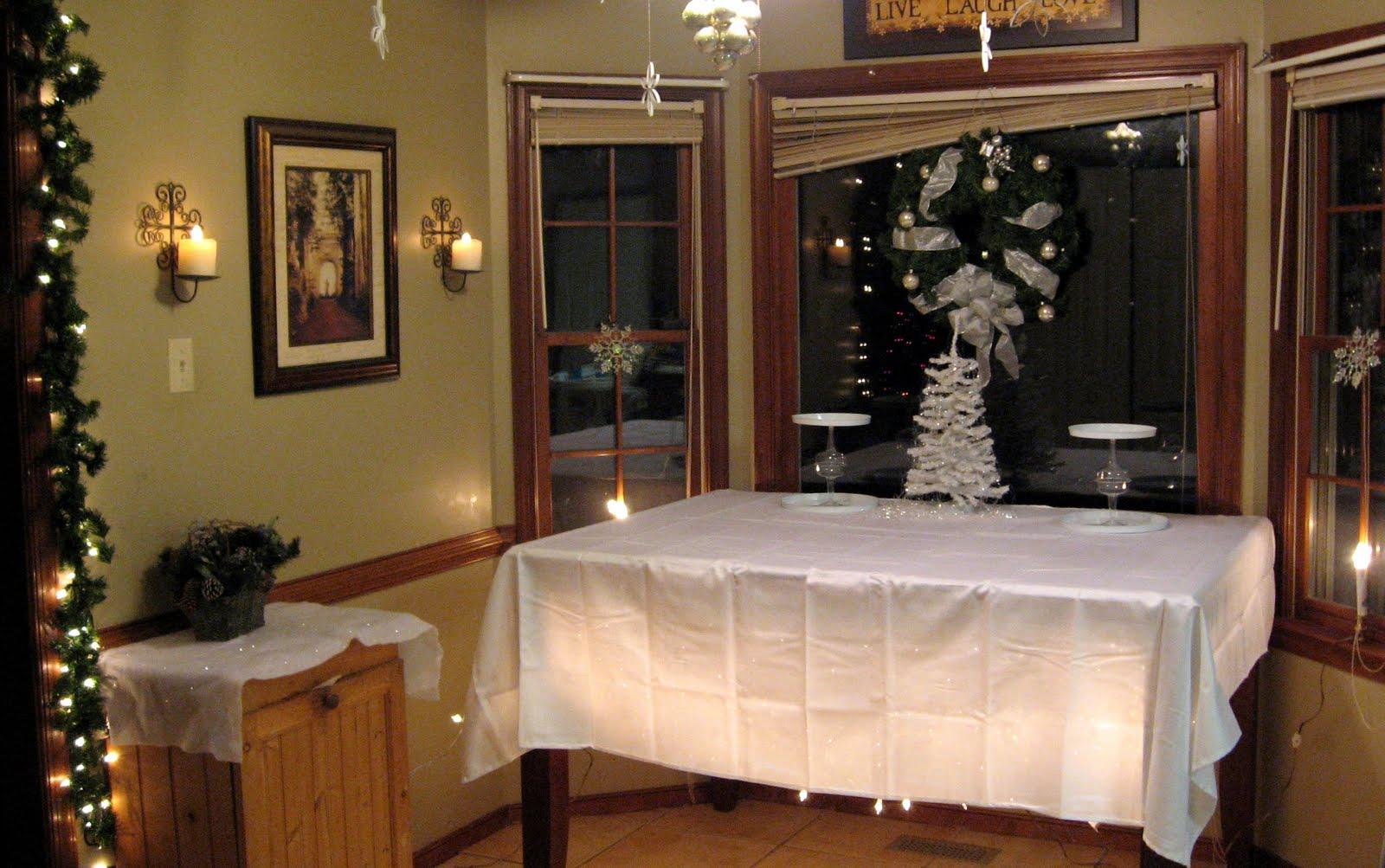 Winter Wonderland Home Dining Rooms Interior Design Html on