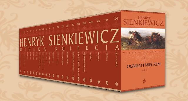 Ekskluzywna seria dzieł Henryka Sienkiewicza już w kioskach!