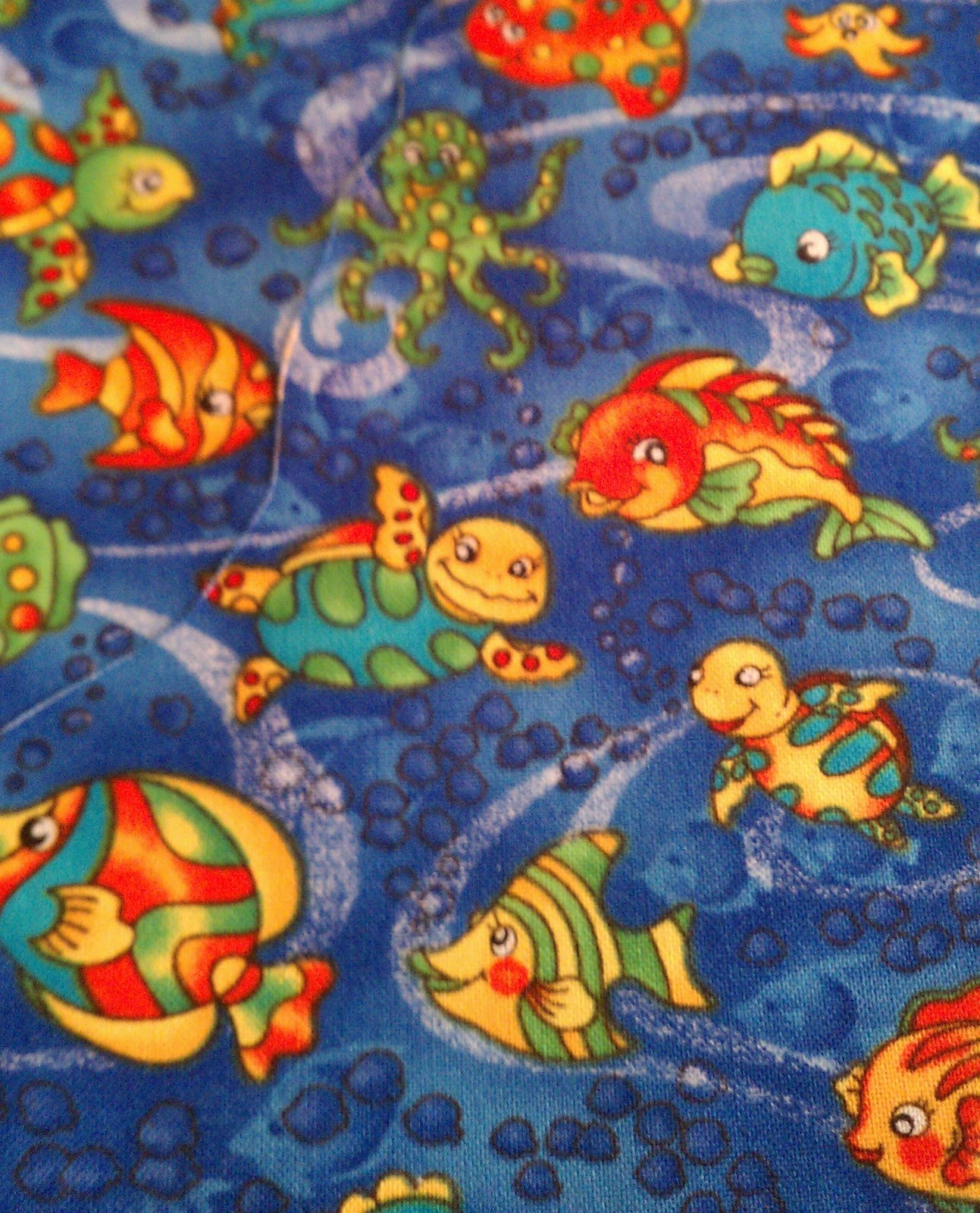 Fish quilt for Fish fabric for quilting
