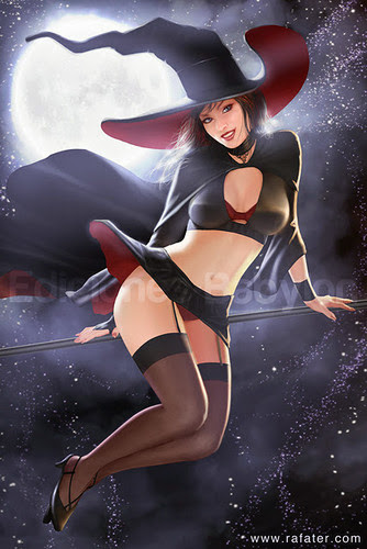 halloween adult art