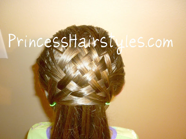 basket weave hairstyle design