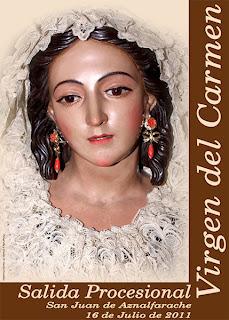 San Juan de Aznalfarache - Cartel Virgen del Carmen 2011