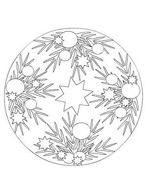 Artesanato Natalino Moldes De Desenhos De Mandalas Natalinas