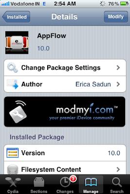 cydia appflow
