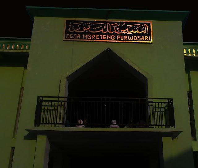 Masjid dan Musholla di Ngrejeng Kumandangkan Takbir Sambut  Malam Idul Adha
