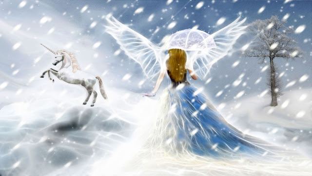 Free Christmas Angels HD Wallpapers for iPhone 5