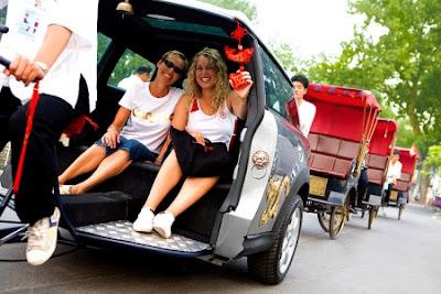 Becak Mini Cooper Termewah di Dunia