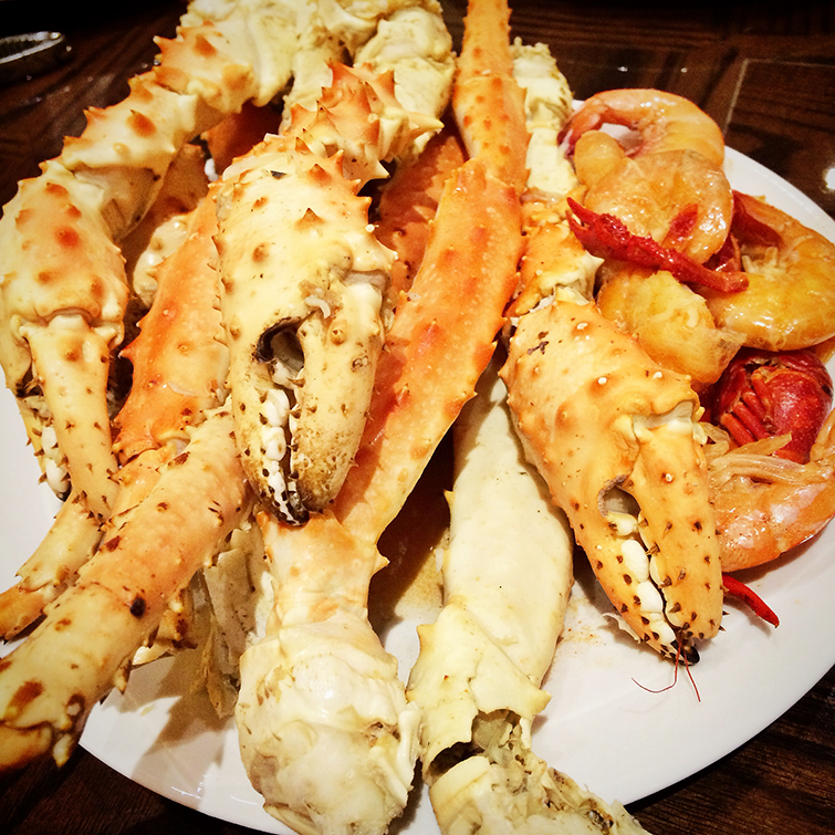Winstar World Casino Firehouse Buffet Crab Legs