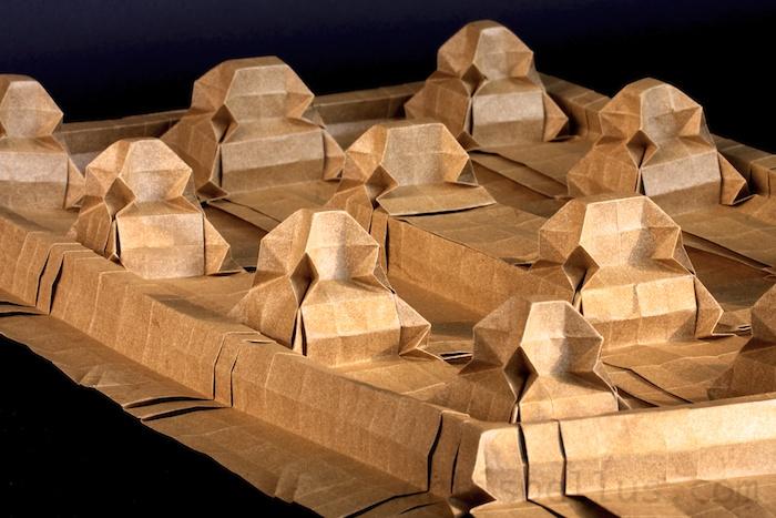 Castle Origami Tessellation New Video Origami Artis Bellus