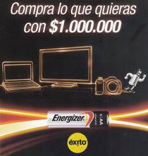 concurso+energizer+gana+50+bonos+por+1+millon+de+pesos+para+redimir+en+almacenes+exito