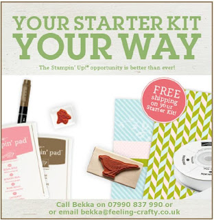 Join Stampin' Up! UK - Your Starter Kit Your Way