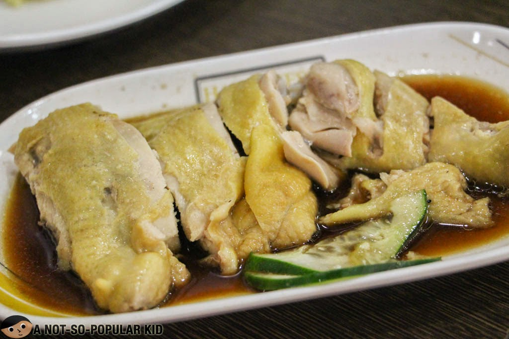 Hainanese Delights Steamed Chicken