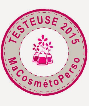 Testeuse MaCosmetoPerso 2015