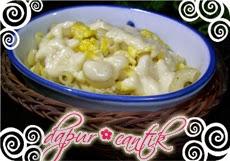 Gambar Masakan Makaroni Telur Orak-Arik Dapur Cantik