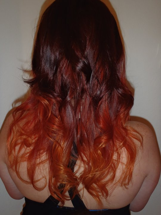 ... Red Hair With Blonde Highlights , Auburn Red Hair Tumblr , Dark Red
