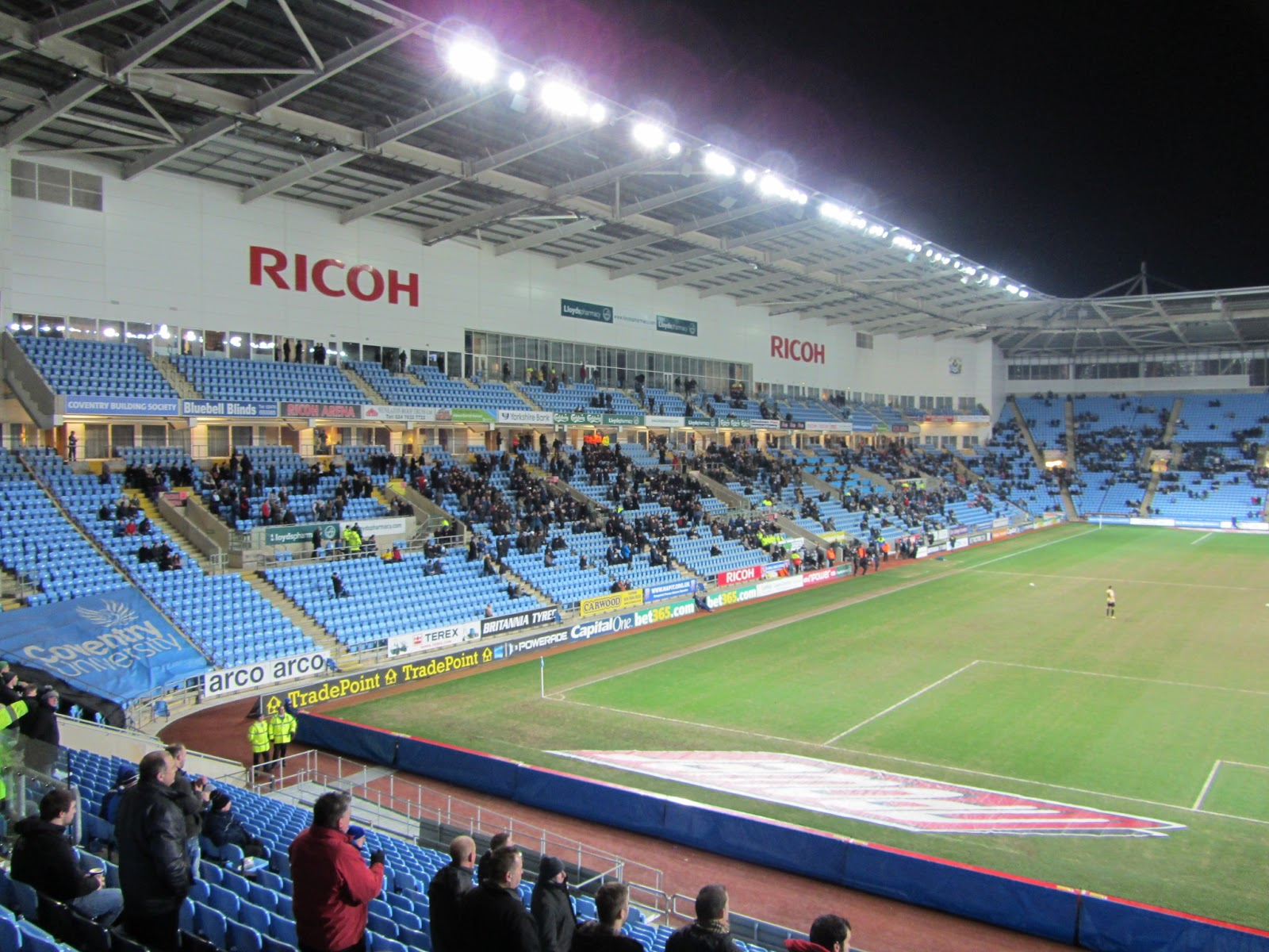 Exhibition Stand Builders Northampton : Groundhopper united stadium ricoh arena