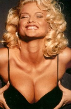 Anna nicole smith breasts