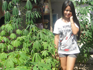 Hor Raksakosal Khmer Cute Girl With Nature Photo 4