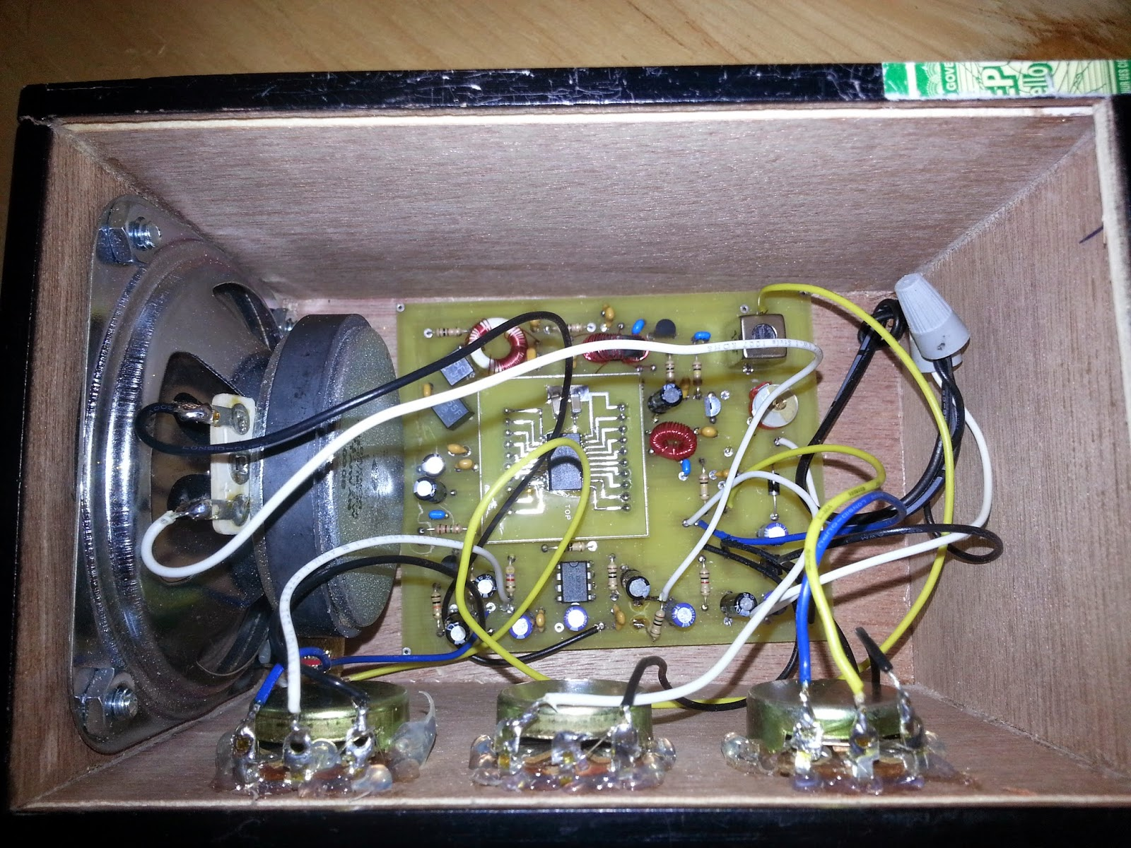 Jarrets Electronic Hobby Blog Superheterodyne Shortwave Receiver How It39s Made Electrical Wires Youtube The Board Was Created For A Class To Use Which Included Instructions Tda1572 An Smd Chip Soldered On Its Own