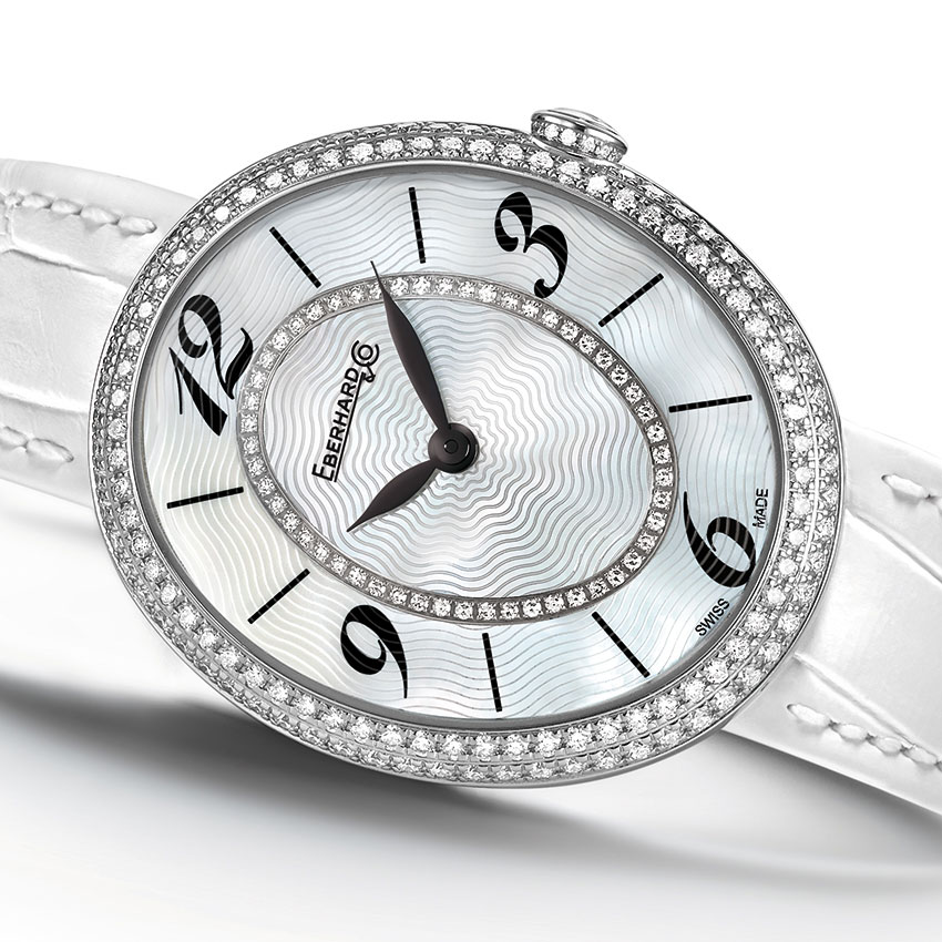 Eberhard & Co. Gilda « Precious White » Watch