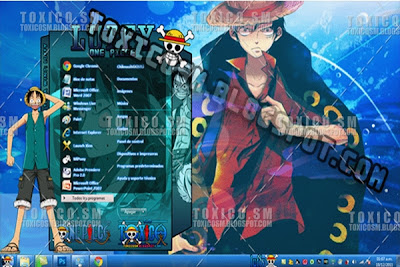Windows 7 Luffy Teması
