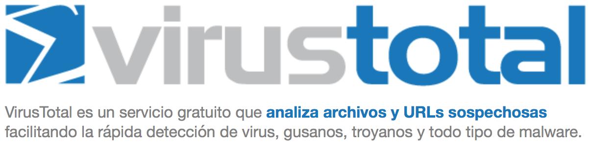 Analiza ficheros o webs sospechosas