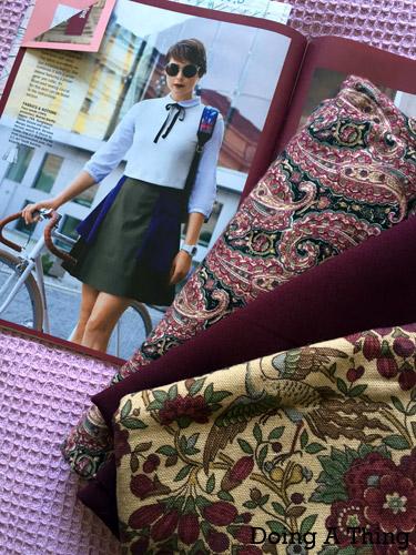 burda style skirt 10/2015 109
