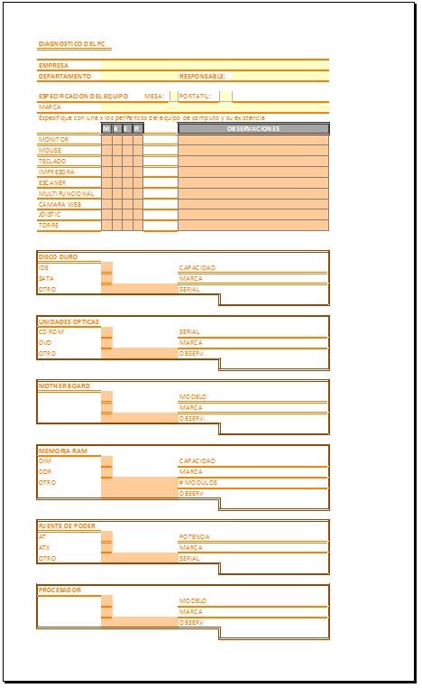 Formato De Inventario