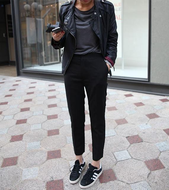Street Style Sporty Pants