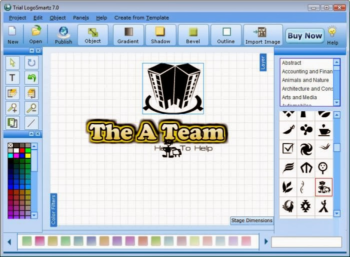 Window soft market logosmartz logo maker software free for Logo download free online