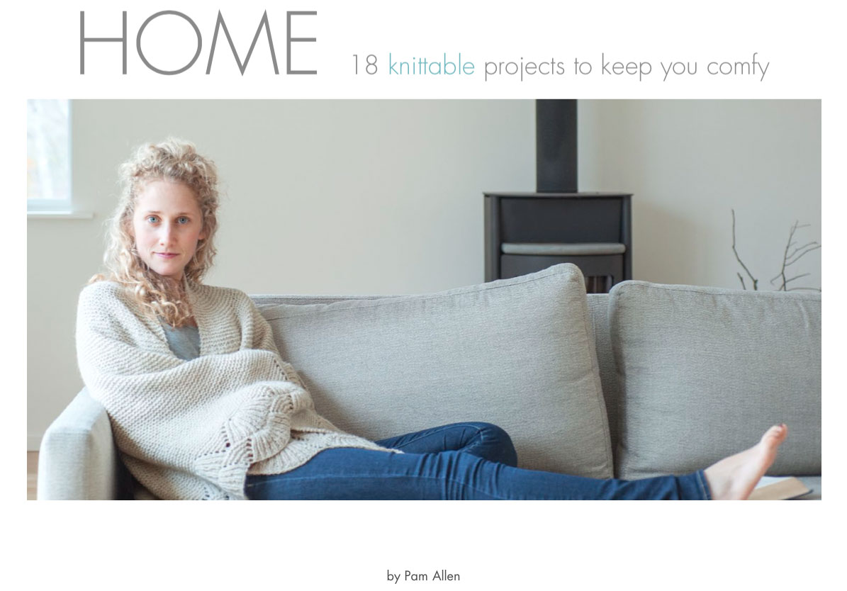 Giveaway for new book HOME by Pam Allen of Quince & Co. on VeryShannon.com