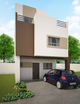 Casa Moderna Balcones de las Mitras
