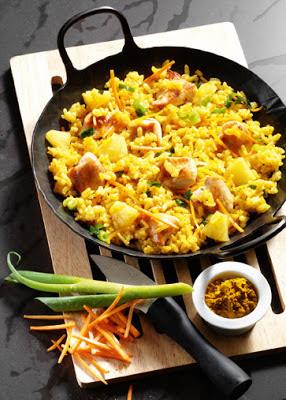 cholesterinarme rezepte curry risotto mit huhn essen trinken. Black Bedroom Furniture Sets. Home Design Ideas