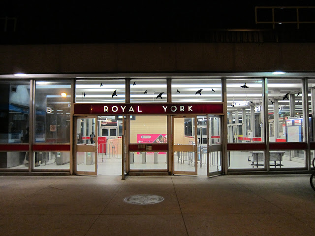 Royal York station main entrance
