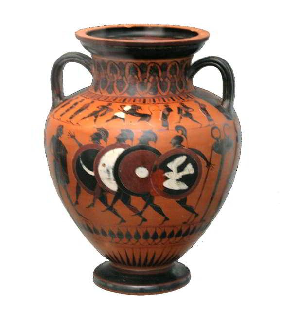 karya tembikar yunani kuno
