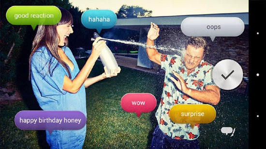 Voice Balloon Photo for Android
