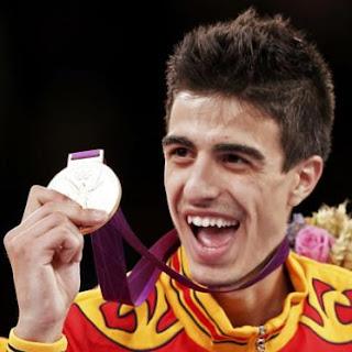 Joel González medalla de oro en Taekwondo 58 kilos España Juegos Olímpicos Londres 2012