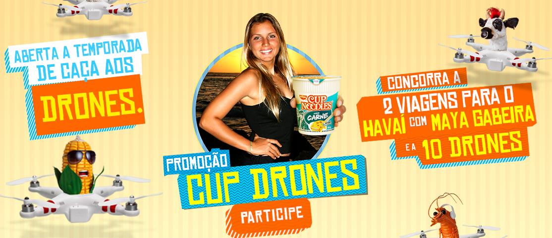 """Promoção Cup Noodles - """"CUP DRONE MAP"""""""