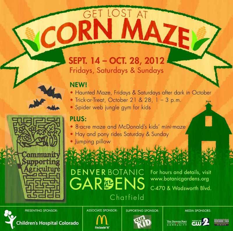 Denver Gardens Corn Maze Falcon Run Apartments