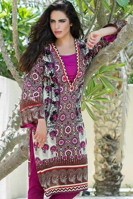 Gul Ahmed  Mid  Summer  Embroidered Collection 2015