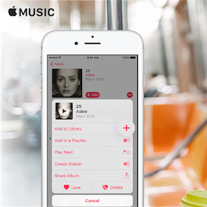 Apple Music on the Go