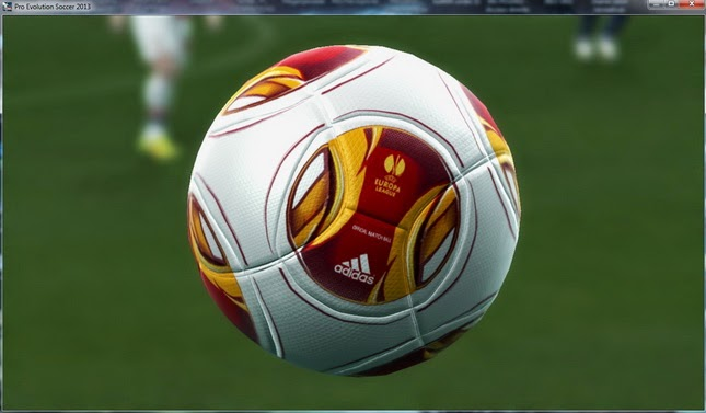PES 2013 Finale 2014-15 match ball & Europa League 13-14 Mejorado Ball by danyy77